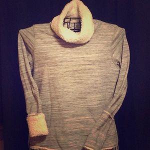 Sonoma faux fur lining women sweater